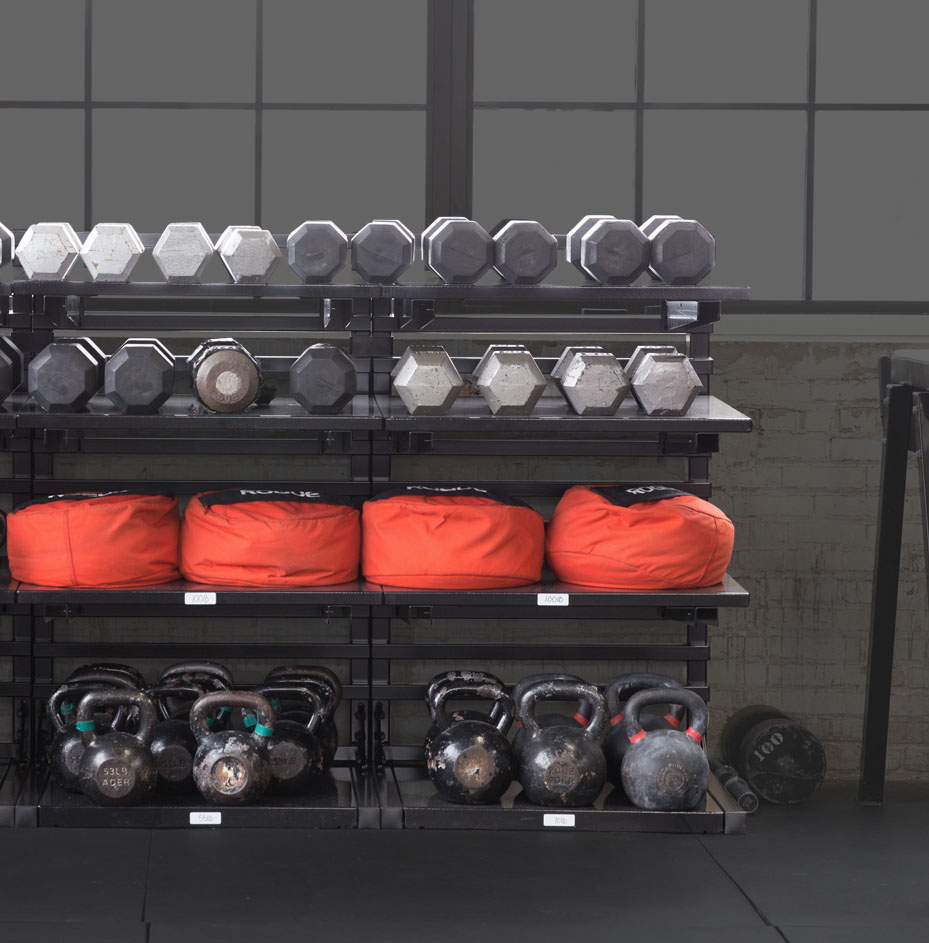 Kettle Bell Heavy-duty Shelving