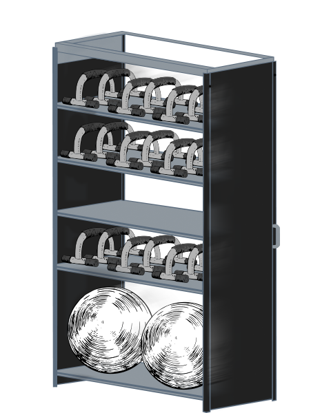 LIFT Storage pushup bars