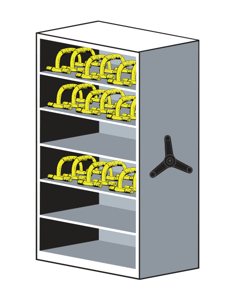 LIFT System Ancillary Equipment Storage