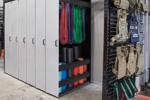 LIFT - Compact Shelving for Equipment