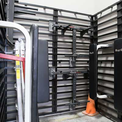 LIFT System HD Wall Rack