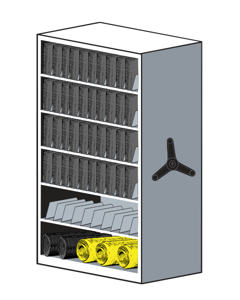 LIFT System Pad Equipment Storage