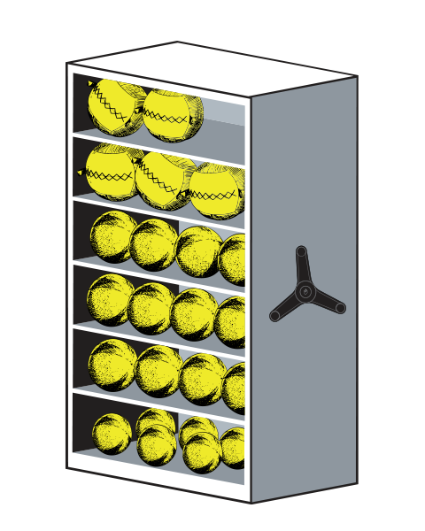 LIFT System Slam Balls Equipment Storage
