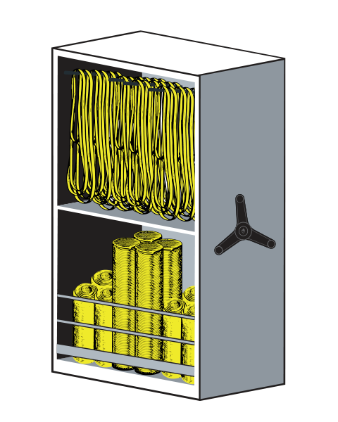 LIFT System Stretch Equipment Storage