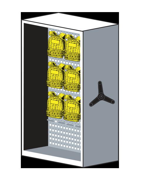 LIFT System Weight Vests Equipment Storage
