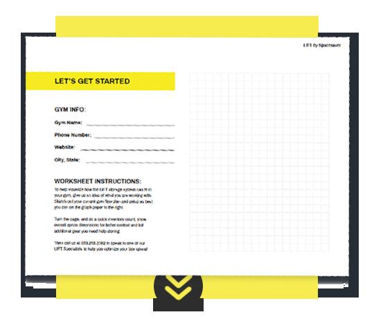 Download LIFT Gym Floorplan Worksheet