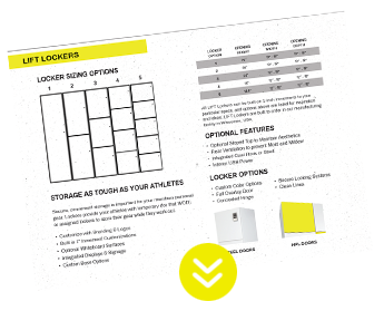Free Download of Locker Info Sheet